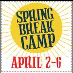 Spring Break Camp:  April 2rd Thru April 6th 2018