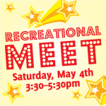 Spring Recreational Meet – May 4th 2019