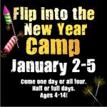 Flip Into 2018 New Year's Gymnastics Camp