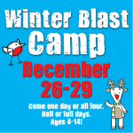 Rec Winter Blast Gymnastics Camp 2017
