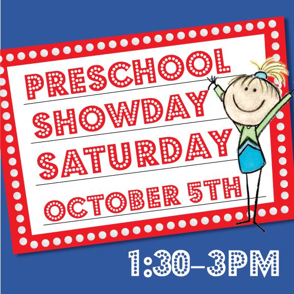 Preschool Show Day – October 5th, 2019