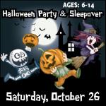 Halloween Gymnastics Party And Sleepover, October 26th