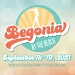 Begonia By The Beach – September 18th-19th